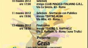 MAGIC FOR CHILDREN – 10, 11, 13 MAGGIO 2012